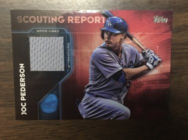 2016 Topps Scouting Report Relic Joc Pederson #SRR-JP  👉 $7 shipped 👉 https://t.co/ZFRsNUMe9f  @HobbyConnector @mlbhobbyconnect @DailySportcards @sports_sell @HiveCards #tradingcards #dodgers #lableedsblue #postseason #nlcs #collect #thehobby #hobbybst #baseball #baseballcards https://t.co/3HhnaMDOpU