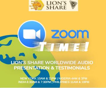 IT'S ZOOM AUDIO PRESENTATION TIME!! ATTEND THE WORLDWIDE MEETING FOR THE TRON SMART CONTRACT! https://t.co/0QawT6vISf  Join us on #Whatsapp to know more about our #TRONBACKPROMO!   https://t.co/yk8BeT5Axw  #lionsshare #forsage #tron #trx #eth #crypto #btc #bitcoin #lionshare https://t.co/JwDGjgtHtI