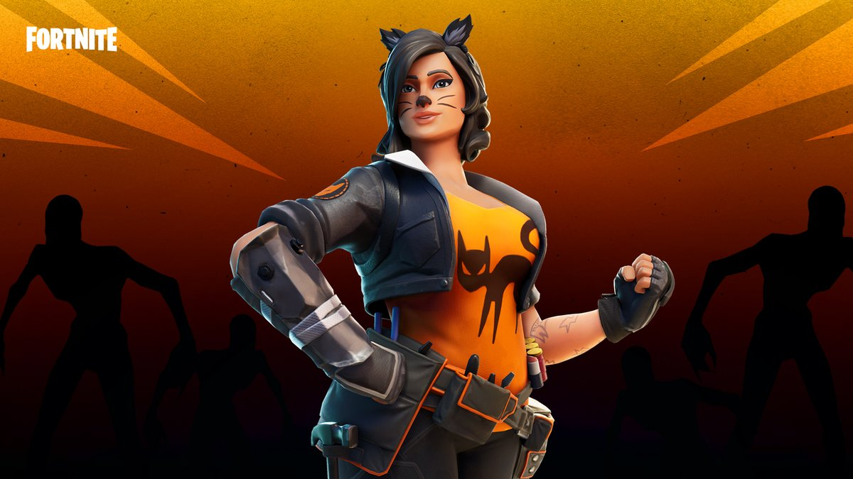 Dress up for an autumn party in classic spooky feline fashion.   Get Penny with a new Style in the Item Shop now! https://t.co/oknDY4lAJc