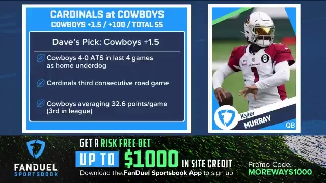 Can the Cowboys get it done with Andy Dalton? 🤠  @icecoldexacta explains why he is rolling with Dallas on #MNF ⬇️ https://t.co/wVdKD5MNso