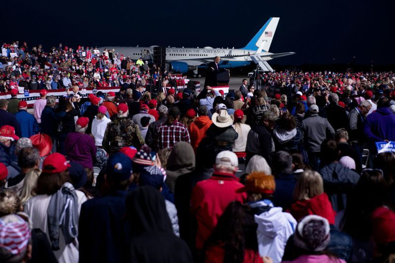 The Minnesota Department of Health says it has so far traced 20 cases of Covid-19 back to a rally held by President Trump in Bemidji last month, or to related events https://t.co/cBExof19oY https://t.co/RdKxkCERp6