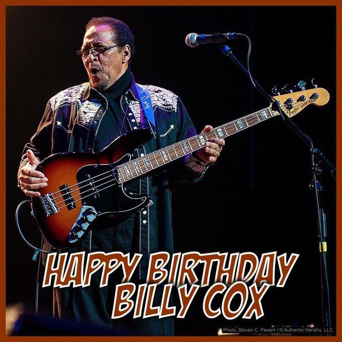 Happy Birthday Billy Cox.
