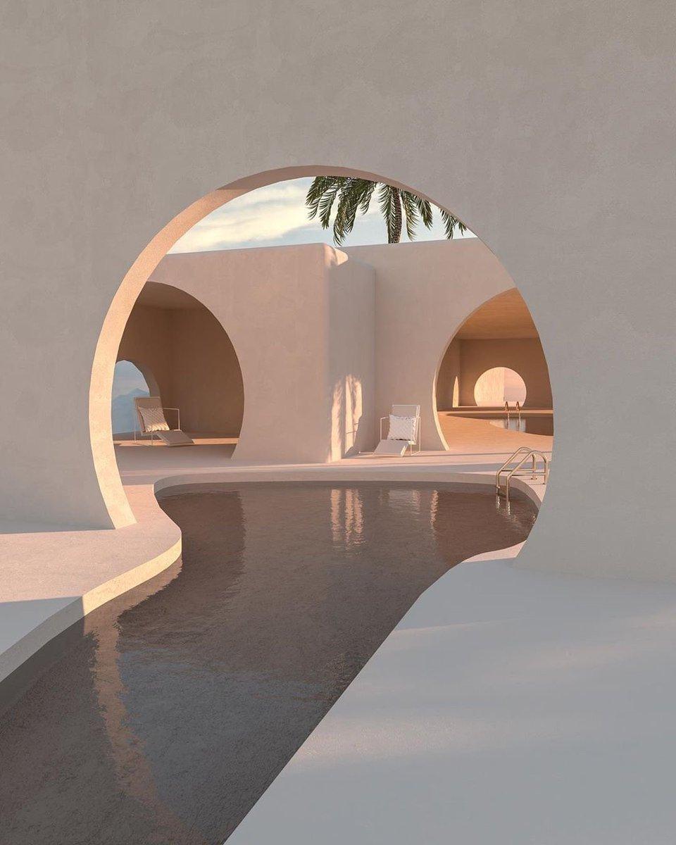 3Dデザイナー Jo-Anie Charland 様の作品たち見てるだけで心落ち着く穏やかな空間
