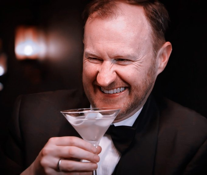 Happy birthday mark gatiss! I love you so much! Hope you have wonderful day !
