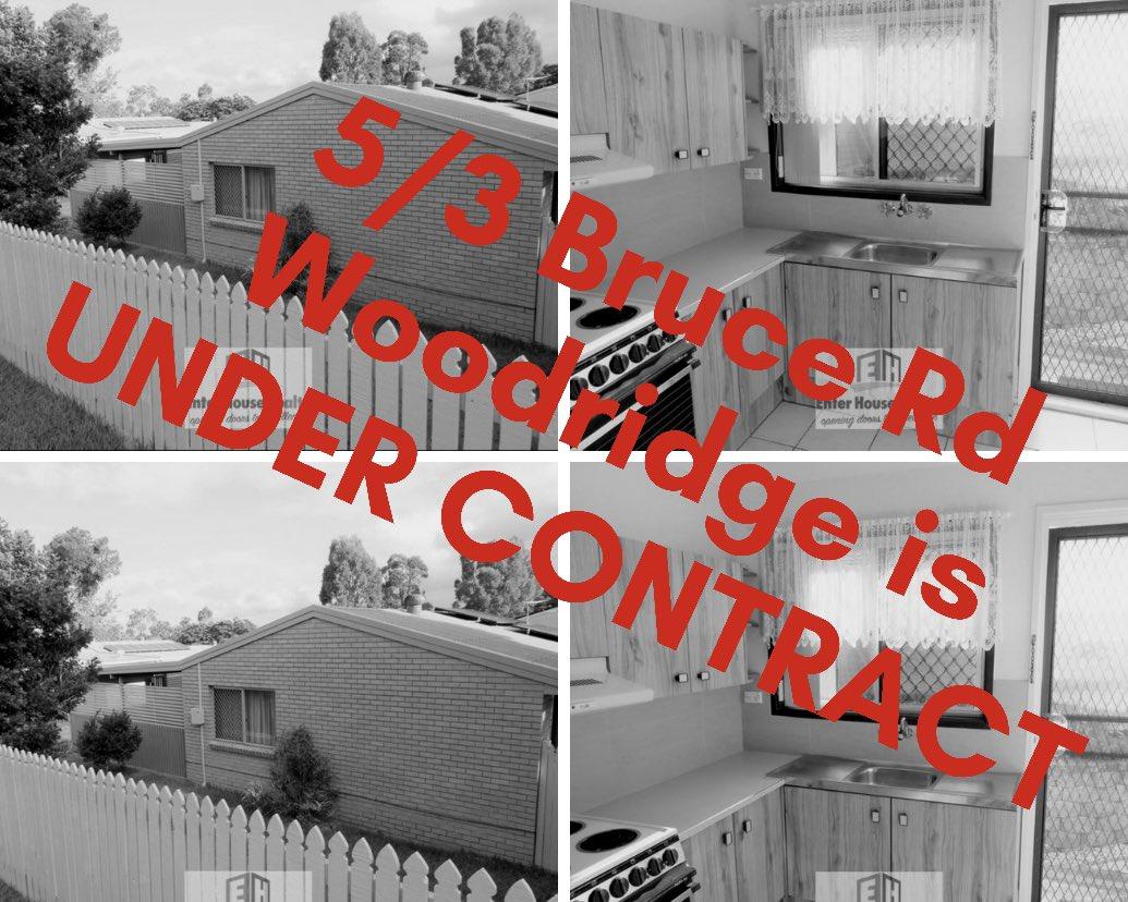 5/3 Bruce RD WOODRIDGE is now Under Contract! 📑🖌 https://t.co/Fw8TEUiQ2c