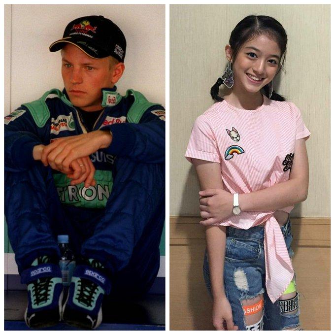 Today\s birthday  Kimi Raikkonen 41st Birthday Sweet 17th Birthday  Happy Birthday you two guys