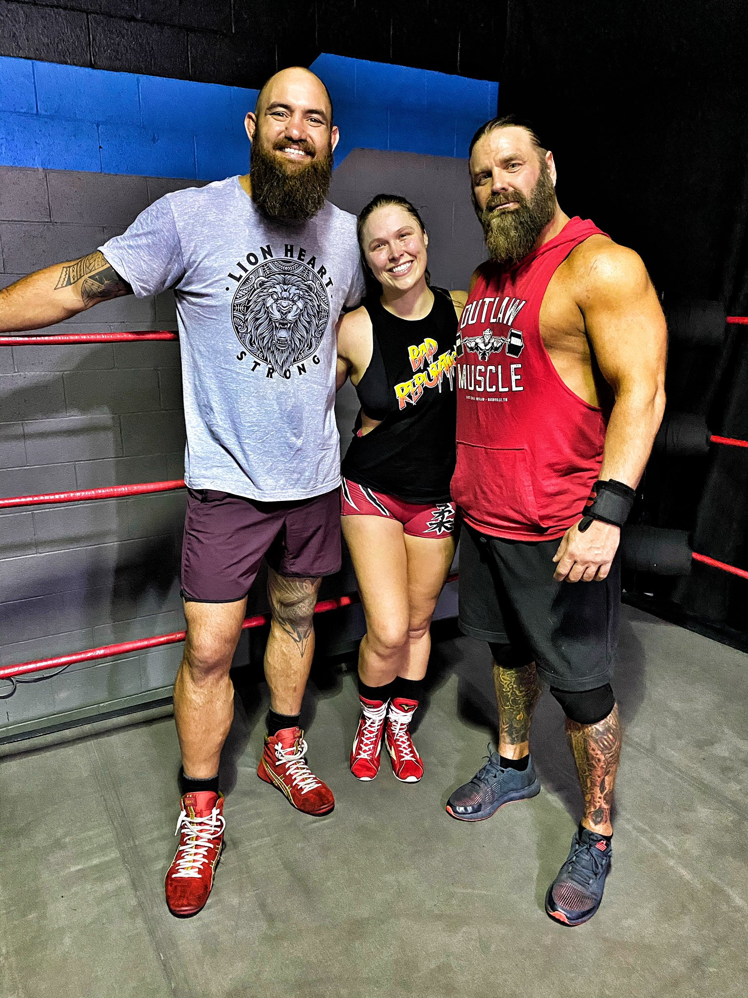 Ronda Rousey Spotted Training With James Storm; WWE Return Imminent? 1
