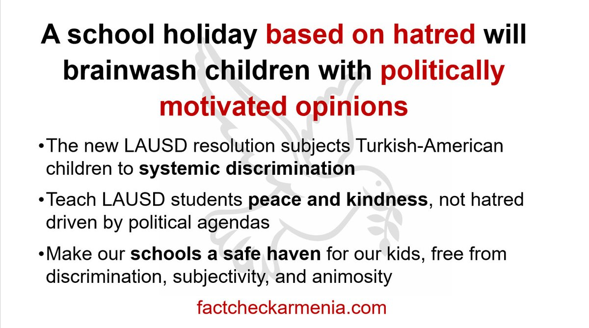 We don't want bullying and aggression at schools. Teach our kids unity, peace and compassion not hatred @UTLAnow @WeAreCTA @CADeptEd #stopapril24holiday #unitedkidsofla https://t.co/SpeHnTbvfi