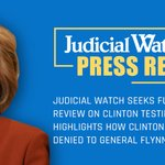 Image for the Tweet beginning: Judicial Watch filed a petition