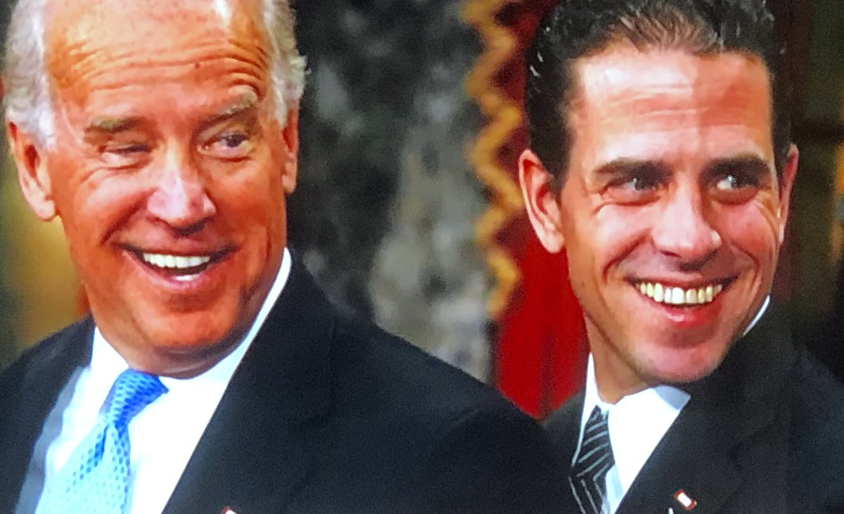 America has been brought to its knees by an engineered deadly virus from China and Hunter Biden was a bag man for China peddling his Vice President father for cash. Do the math.
