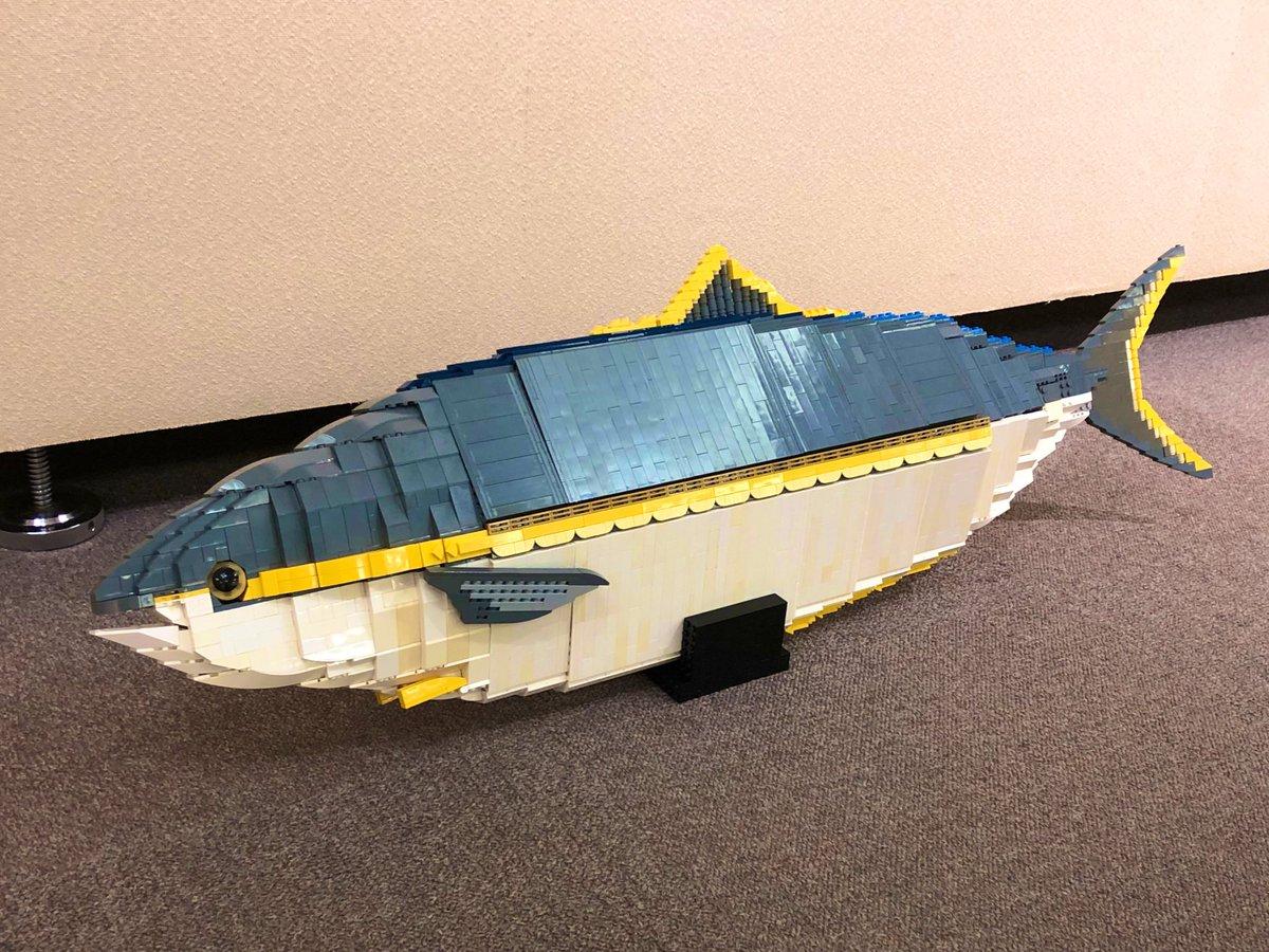 レゴでブリつくったよ #海老ブリ