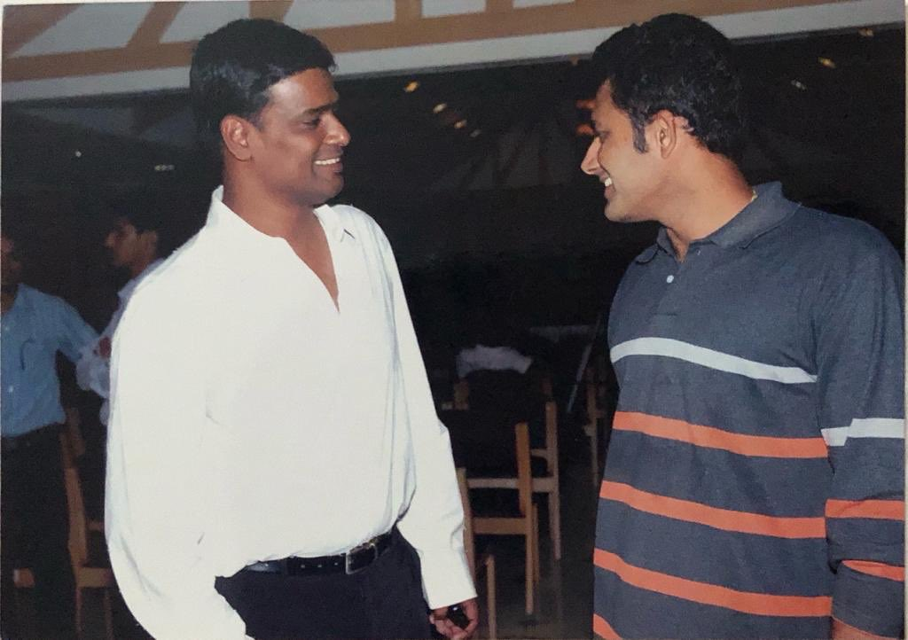 He's the man who made us believe that we could win the Ranji Trophy and eventually won it as Karnataka captain. And he's had a great role in grooming youngsters from our playing days. Happy birthday to my mentor, elder brother and India's greatest match winner Anil Kumble #Jumbo