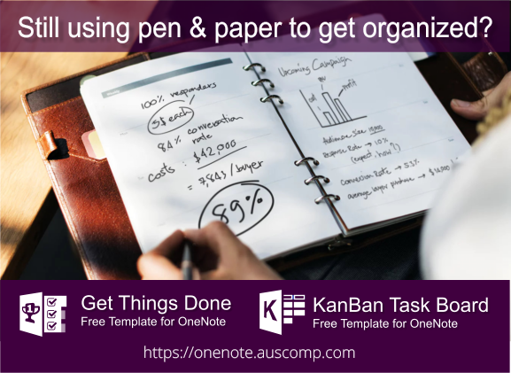 Replace pen and paper with this KanBan Task Board & GTD template for OneNote. https://t.co/Hg3QBWbR88 #coronavirus #covid19 #gettingthingsdone #goalofday #goals #gtd #isolationlife #kanb... https://t.co/0QD8Wrc8M2