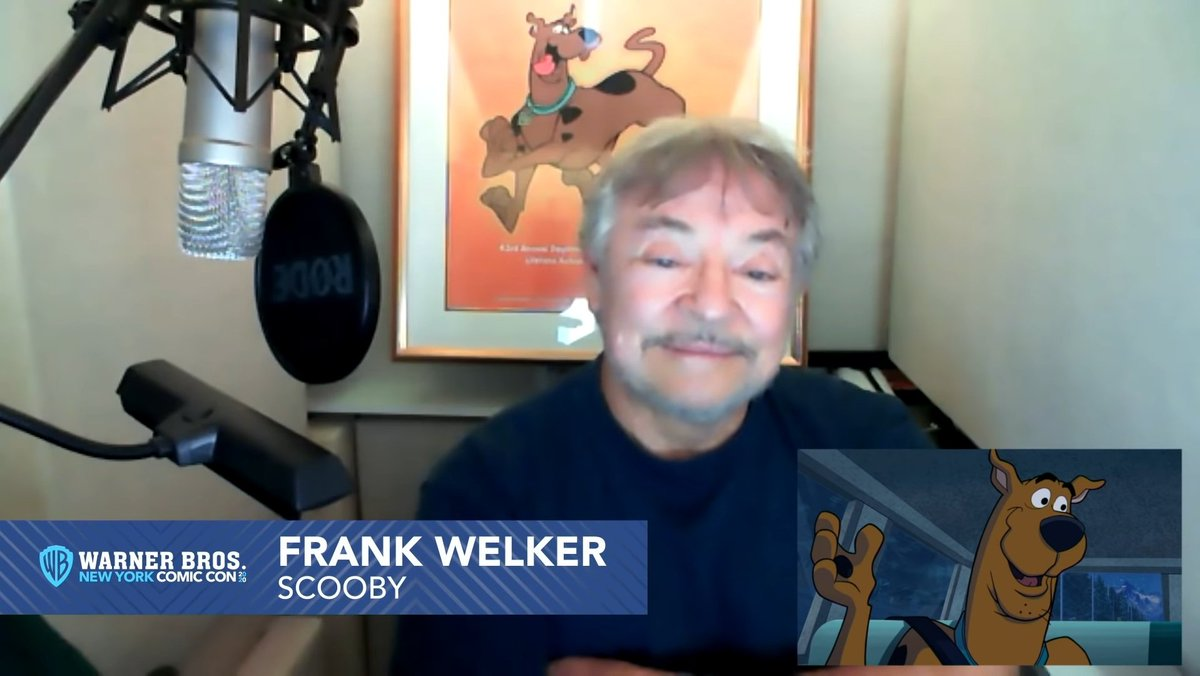 For anyone freaking out about trying to buy a $1300 mic for your home studio right now... take solace in the fact that Frank Welker also uses a RODE NT1-A. I think you'll be fine. 😂  Put more focus on your recording space. 🙏 https://t.co/mpOFuosj2e