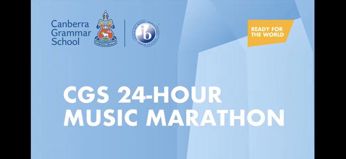... Almost there on the phenomenal @CanberraGrammar 24hr Music Marathon raising funds for Oxfam: https://t.co/5fV39bXHqI Listen & enjoy via YouTube: https://t.co/YL1HZe7V26 huge congratulations to all involved. Rest well when it's done!