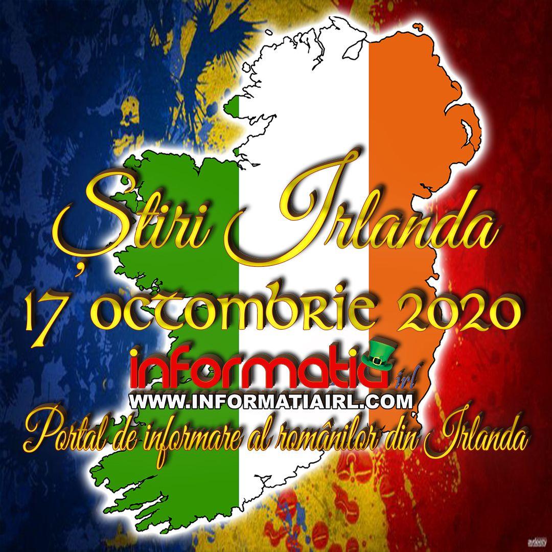 🍀🍀🍀 ȘTIRI IRLANDA - 17 octombrie 2020 🍀🍀🍀 Informatia Irl - Portal de informare al românilor din Irlanda #IRLANDA #INFORMATIAIRL #ROMANIANSINIRELAND #ROMANIIDINIRLANDA #STIRIIRLANDA #DUBLIN #COMUNITATEAROMANEASCĂ #INFORMATIA #STIRI https://t.co/ooEaIfEykb https://t.co/pBICU0nOOU