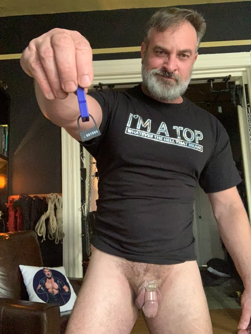 How's your LOCKTOBER going guys? @pupamp and I talk all about chastity in this wee's @WattsTheSafewrd