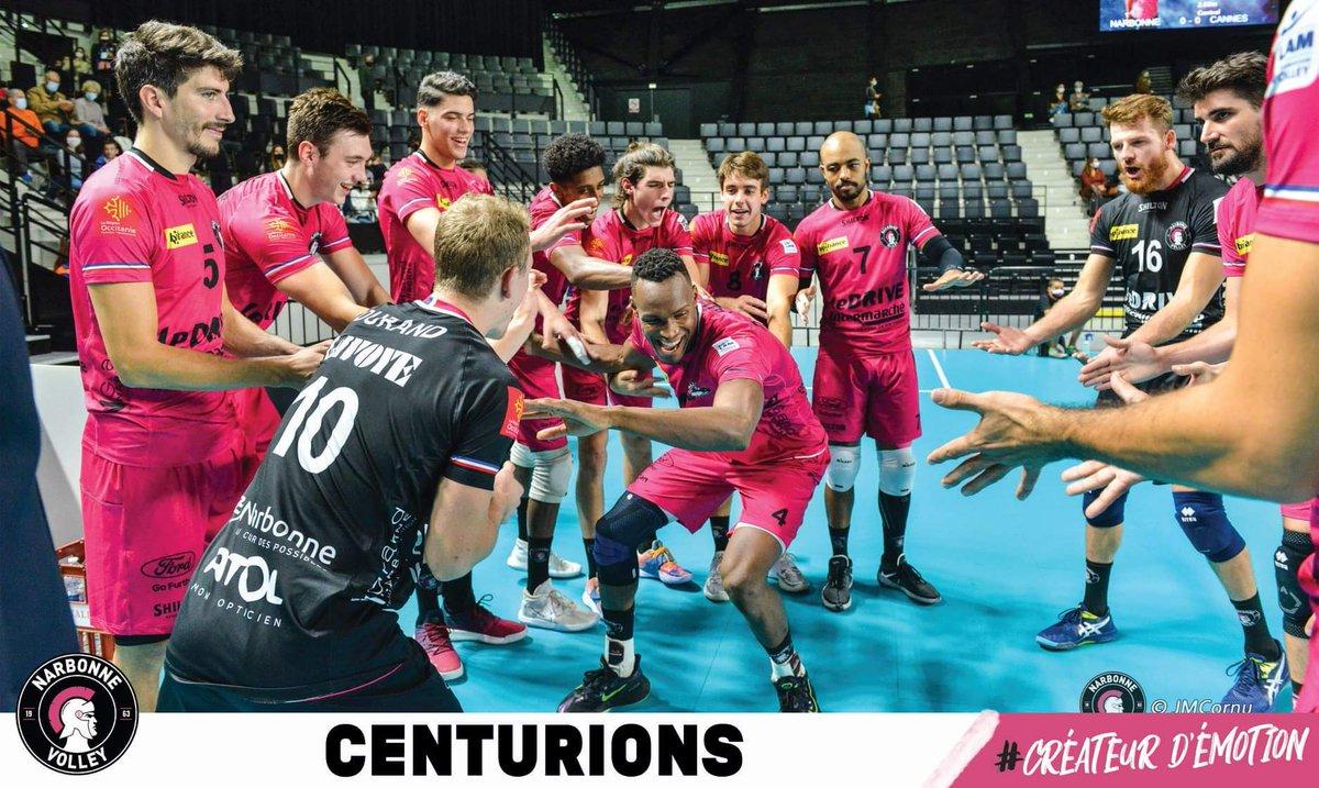 Victoire 3-0 dans le derby l'Occitanie contre @aragodesete, les Centurions en 🔥...