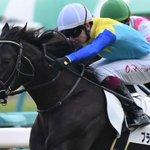 Image for the Tweet beginning: 東京競馬🐴➰💨  8R 5枠5番 #ブラックマジック #石橋脩  🅿️2走前の逃げ切りは能力の高さを感じました。 疲れが出た前走から休ませ、リフレッシュ。 先手主張し、直線抜け出して、粘り込む競馬を期待。鞍上もGood👍  【現在】4番人気