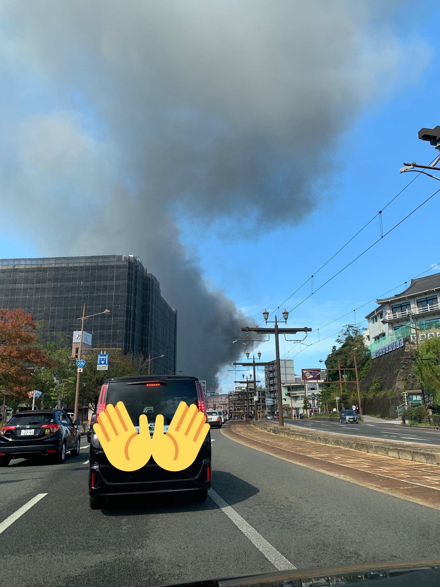 画像,浦上駅付近で火事みたいです😱 https://t.co/xoqub2dEs4。