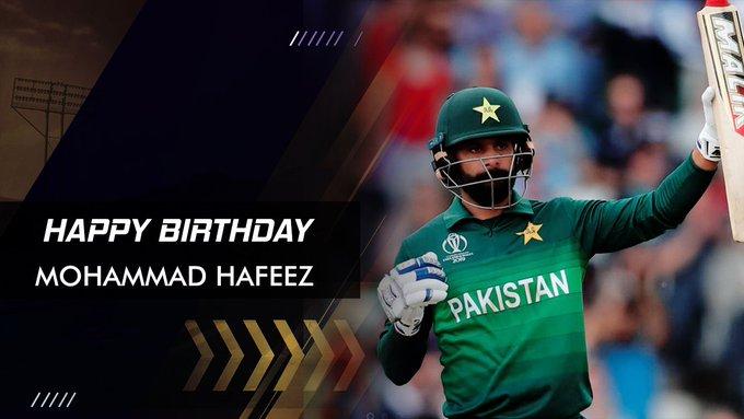 Happy Birthday!! Mohammad Hafeez  Pakistan\s All-Rounder