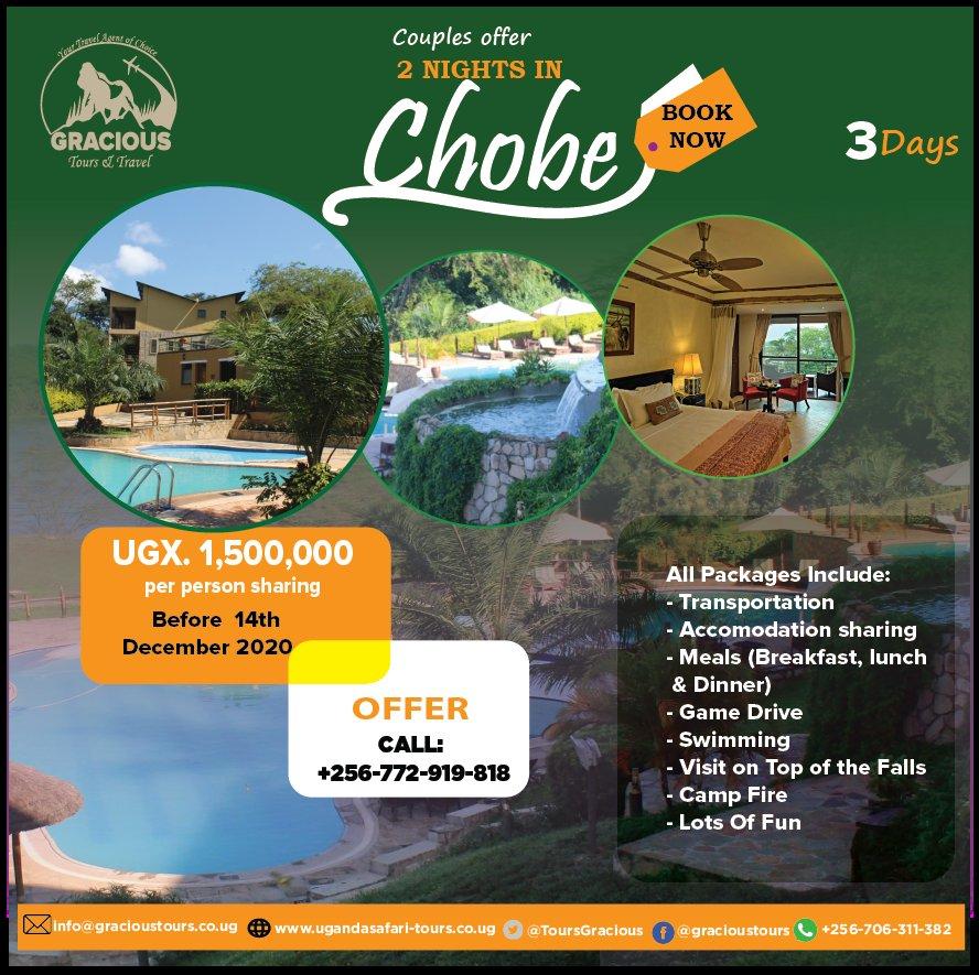 Here we go to #ChobeSafariLodge #SafariUganda #UgandaLoves #Travelanow #MurchisonFalls https://t.co/zqX5GY3nqm
