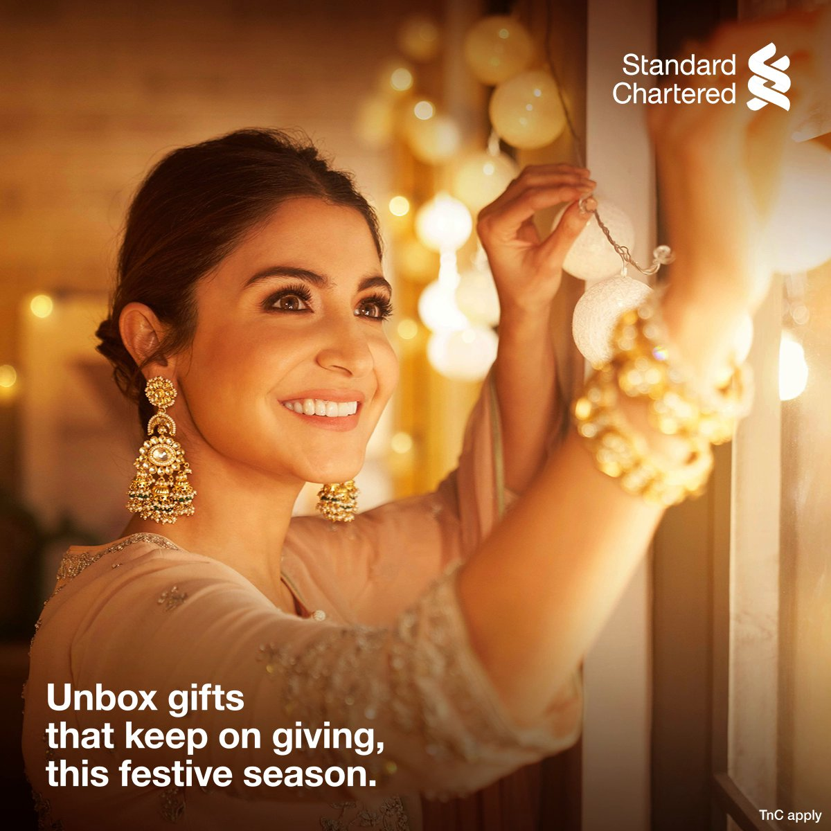 This festive season, celebrate the #FestivalOfYou! To make this season even more special, we bring you 5x reward points on online spends with your Standard Chartered credit cards.  Offer valid from 16 Oct – 22 Oct 2020.   #FestiveSeason #StandardChartered