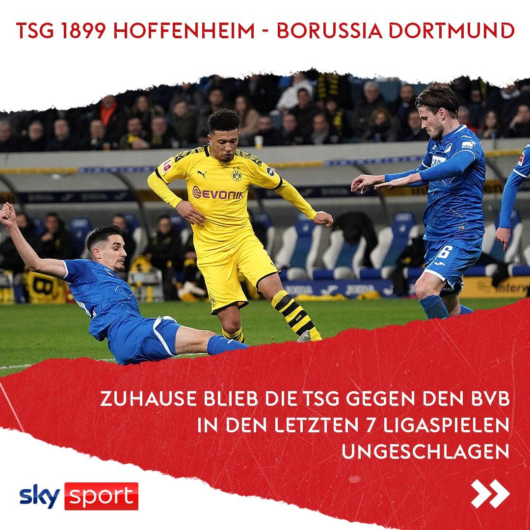 Hoffenheim kann BVB 😉 Ob die starke Heimserie gegen Dortmund auch heute hält ohne Top-Torjäger Kramaric?   Anpfiff 15:30 Uhr live auf Sky - im Einzelspiel oder in der Original Sky Konferenz.  #SkyBuli #Bundesliga #TSGBVB https://t.co/1y7kxXkqzS