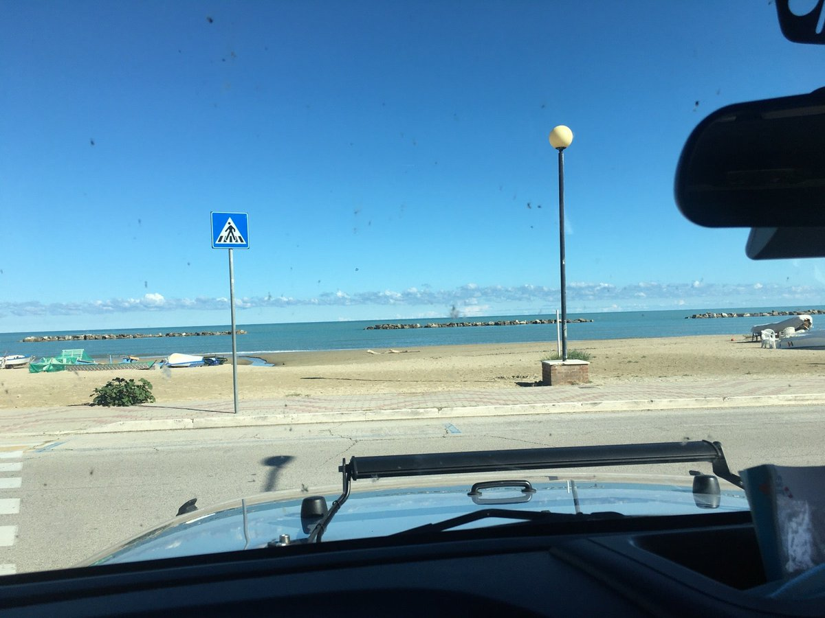 I'm at Spiaggia Libera Porto San Giorgio - L'Adriatico w/ @cla_77 https://t.co/o2Q0Zejhuq https://t.co/mi72cE6cVt