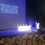 Image for the Tweet beginning: Onneksi olkoon @petrisalminen #yrittäjät #puheenjohtaja