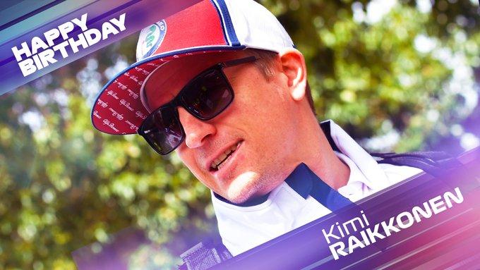 Happy birthday to The Iceman Kimi Raikkonen turns 41 today