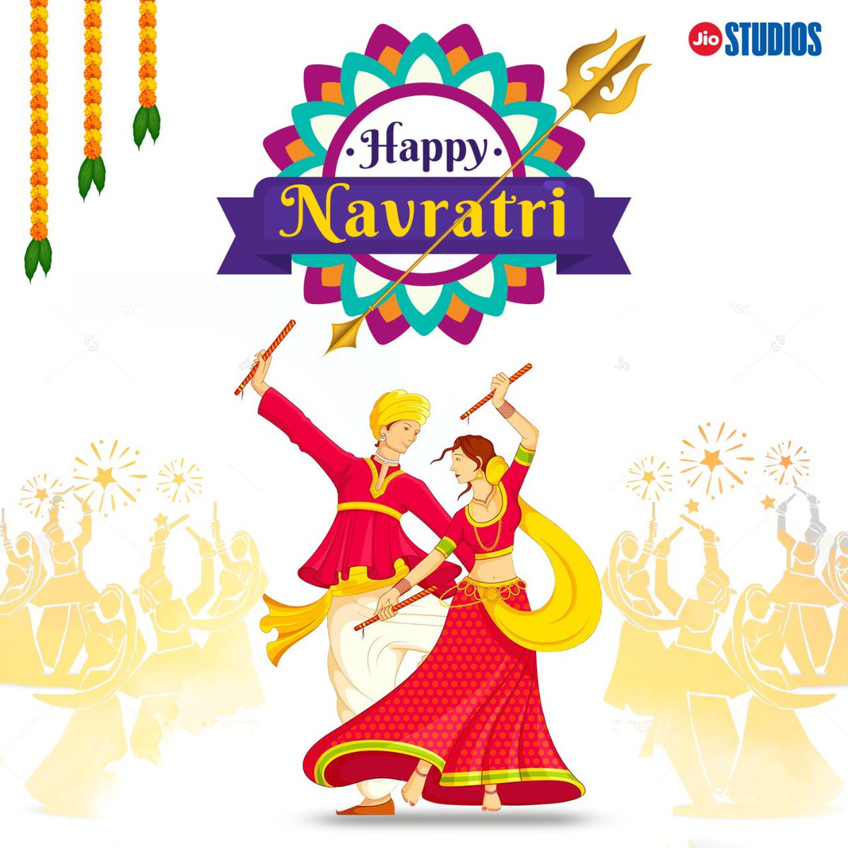 Best wishes for a joyous Navratri! May this auspicious festival bring happiness and prosperity in our lives.