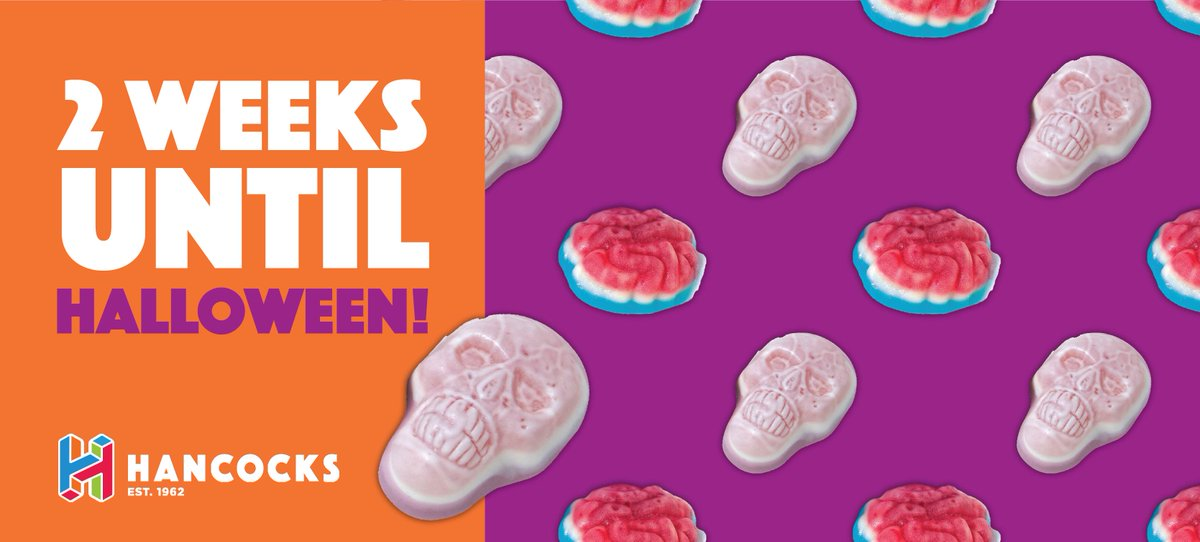 🎃 It's two weeks until Halloween 🎃  Have you stocked up on your Halloween essentials yet? If not don't worry, we have everything from spooky pick & mix to Swizzels Party Treats Tubs, available now for only £13.99!  Check out our current offers here 👉 https://t.co/aRUoEqWN2k https://t.co/FN0O2Kjqze