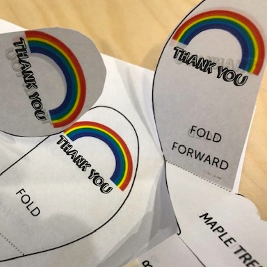 .@scienceoxford would like to say #thankyouNHS. We hope you enjoy our special Family Open Day today. Make spinning paper rainbows to test out on our Air Table or try one of our lockdown challenges! And there's plenty to enjoy in the woodland too! https://t.co/vmQ9n1QZu0