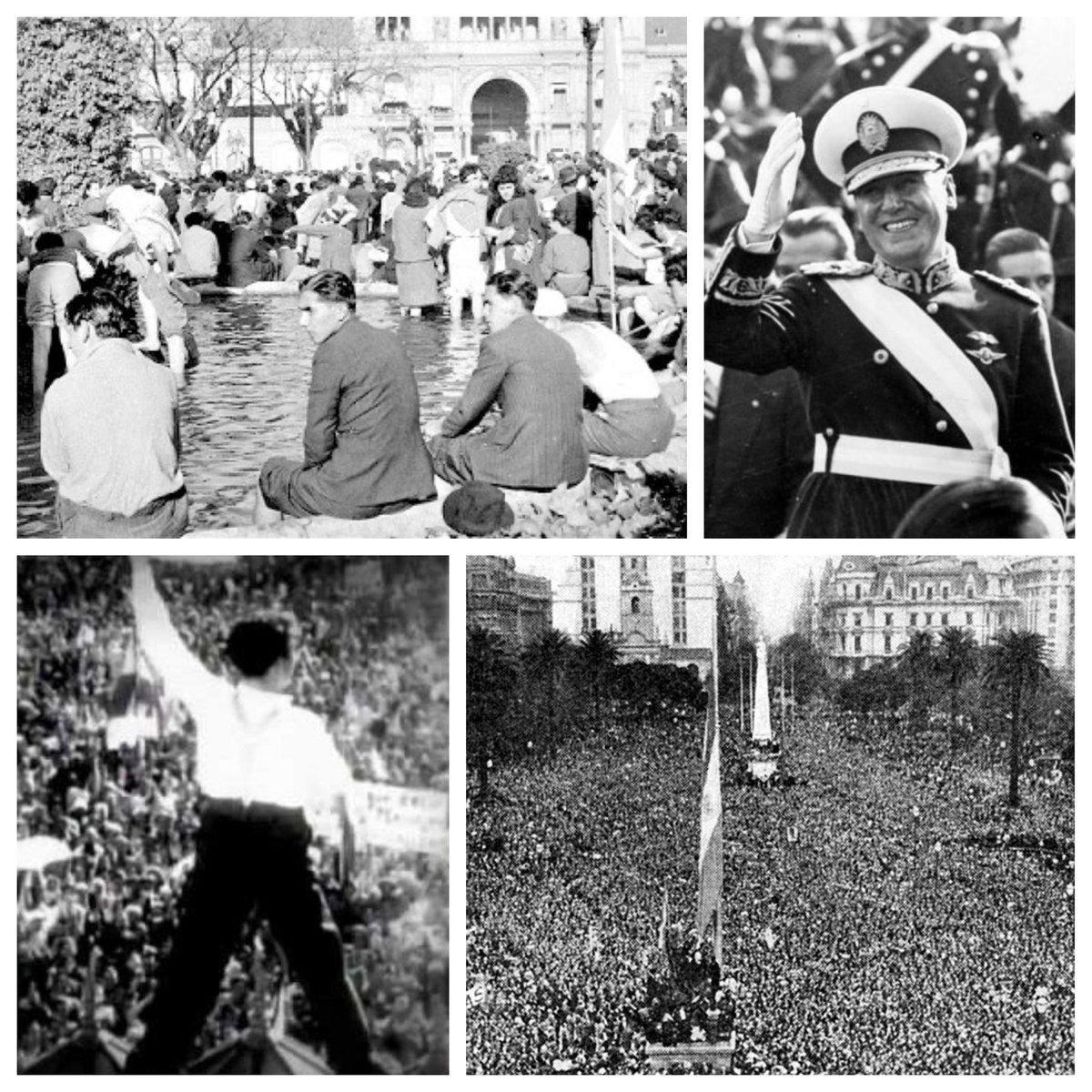 """Jorge Carpinetti ☀️🇦🇷's tweet - """"1945 - 17 de Octubre - 2020 El día que los trabajador@s hicieron historia. Nacía la Argentina Peronista!!! FELIZ DIA DE LA LEALTAD COMPAÑER@S!!! VIVA PERÓN y"""