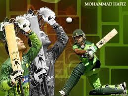 runs in international cricket 2 4 6 international wickets Happy birthday Mohammad Hafeez