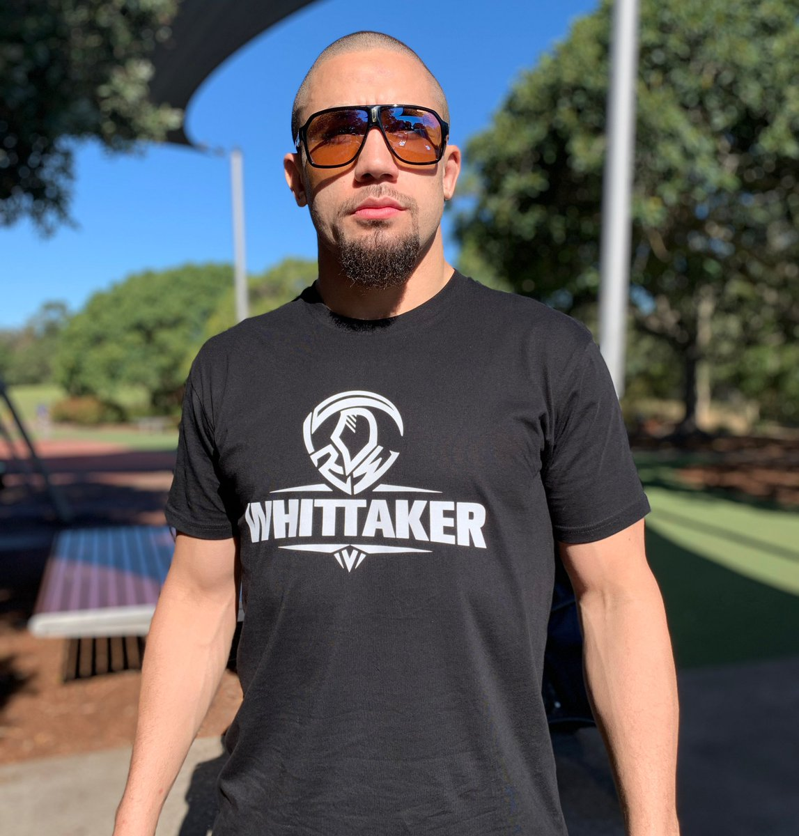 Reaper mode about to hit...one week out 🏆 #ufc254  #calmbeforethestorm @robwhittakermma  . . Wearing the NEW 'Whittaker Classic' T-shirt 🔥 see website link in bio  https://t.co/Rgpcw7KTkX   #reapernation #reapergear https://t.co/cK1wRHgJ0e