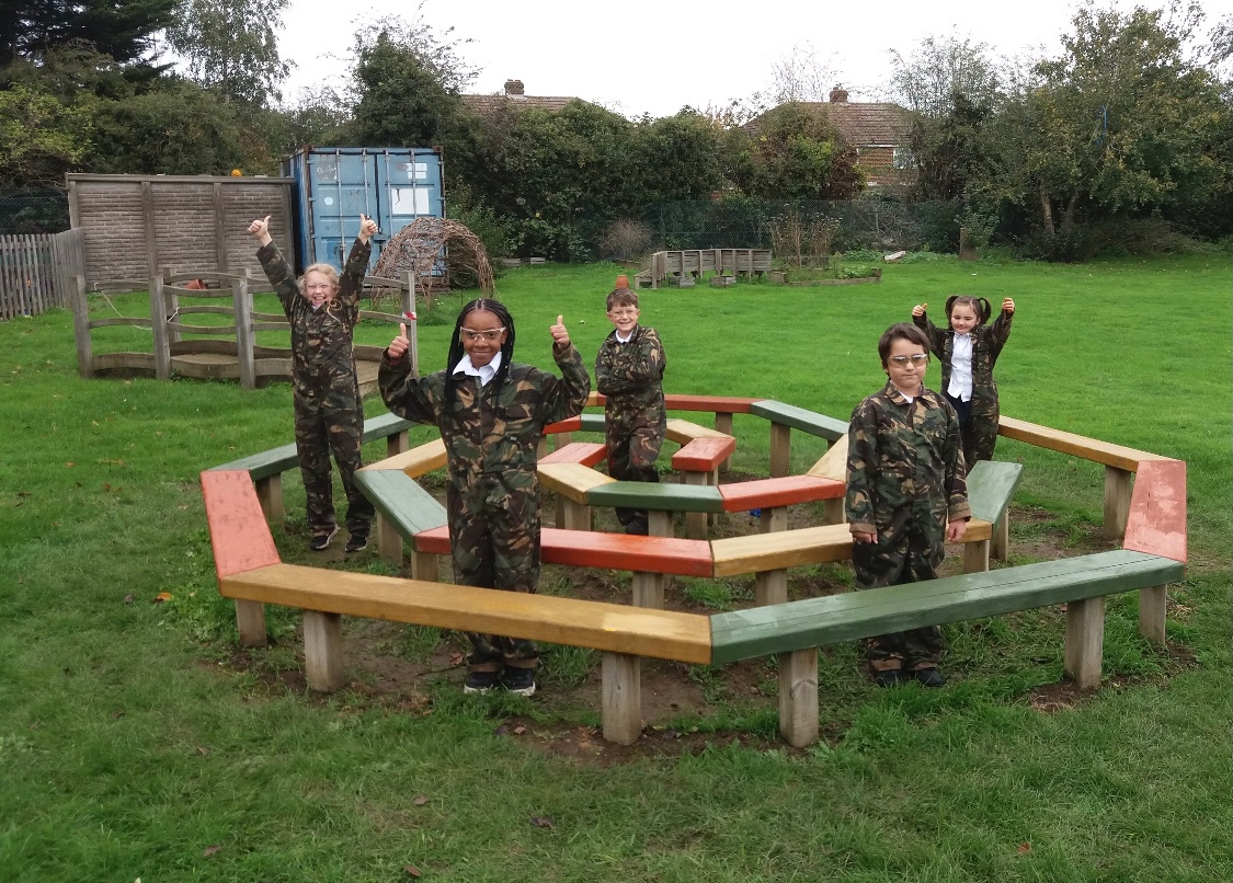 This is one of our favourite pictures this week. Such hard work and great team work went in to this!