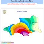 Image for the Tweet beginning: ⛈️🌧️Il y a 80 ans,