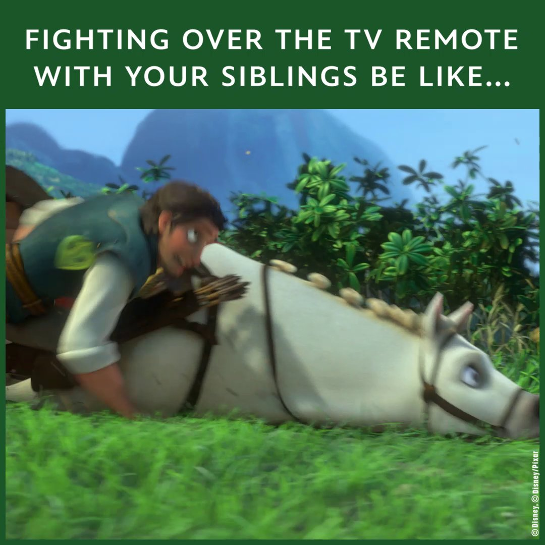 They wish they could control us with a remote too! 🤖 😼 (🎞️: #Tangled)