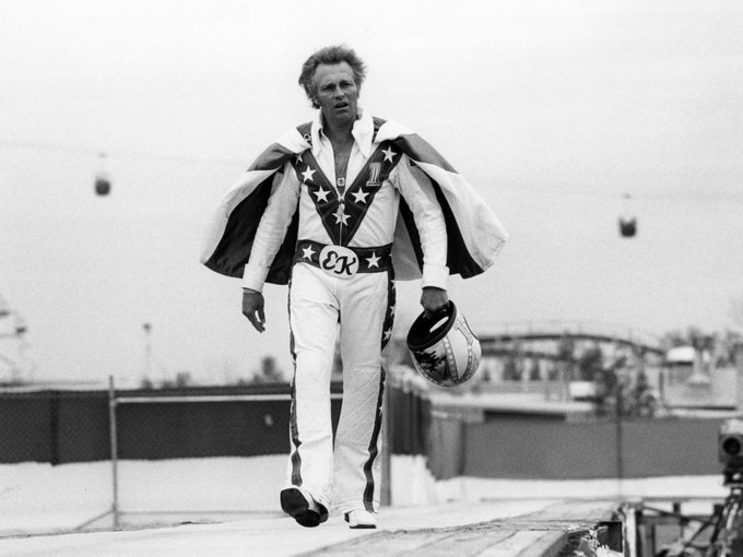 Happy Birthday to the late Evel Knievel, who was born on this day in 1938.