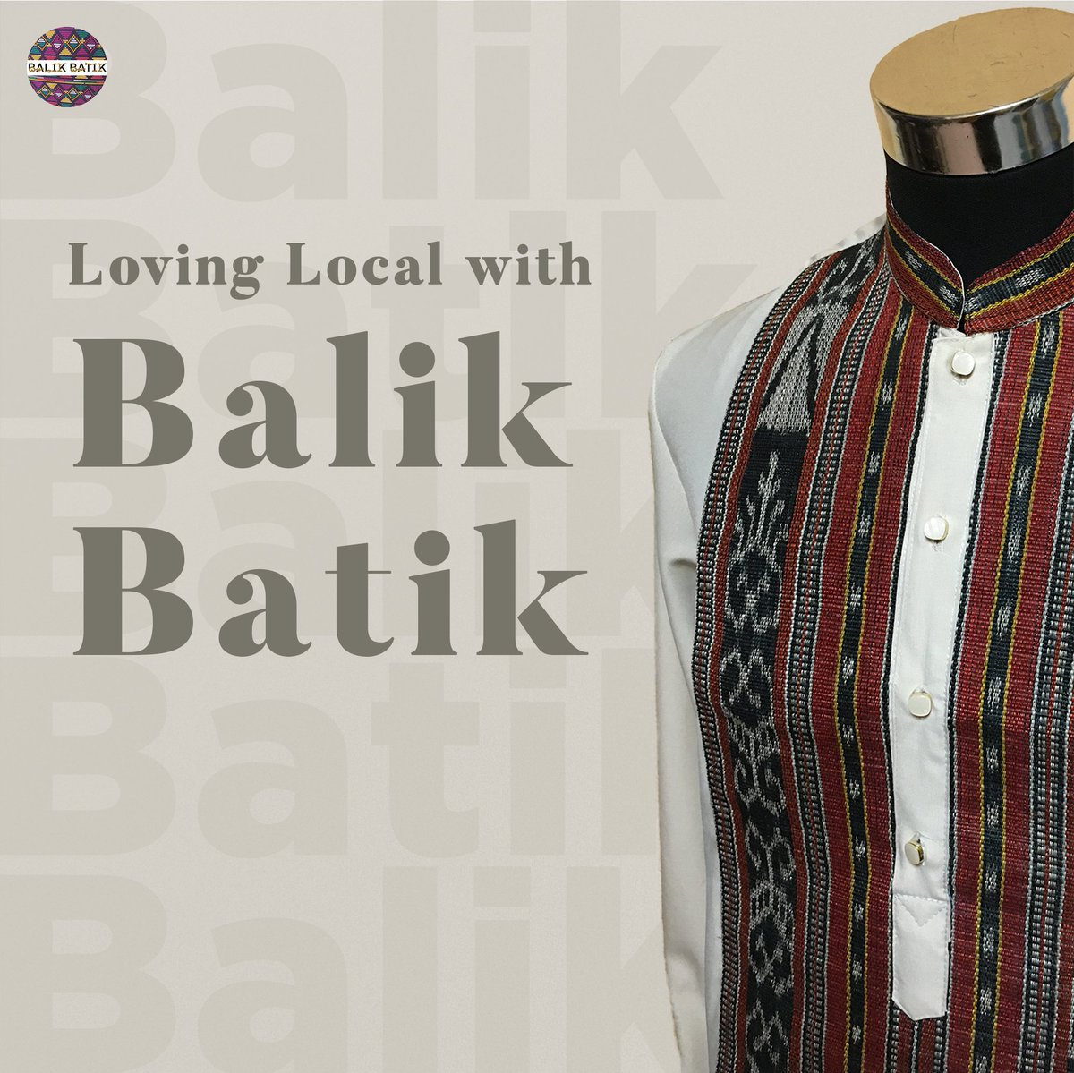 🌟ABOUT BALIK BATIK🌟  It started out with a love for what is uniquely Filipino, and we have been growing since. Our mission is to spread the love for traditional Filipino artistry and weaving through clothing pieces and accessories that are wearable any day, every day.  🇵🇭 https://t.co/Jpia5ViXrP