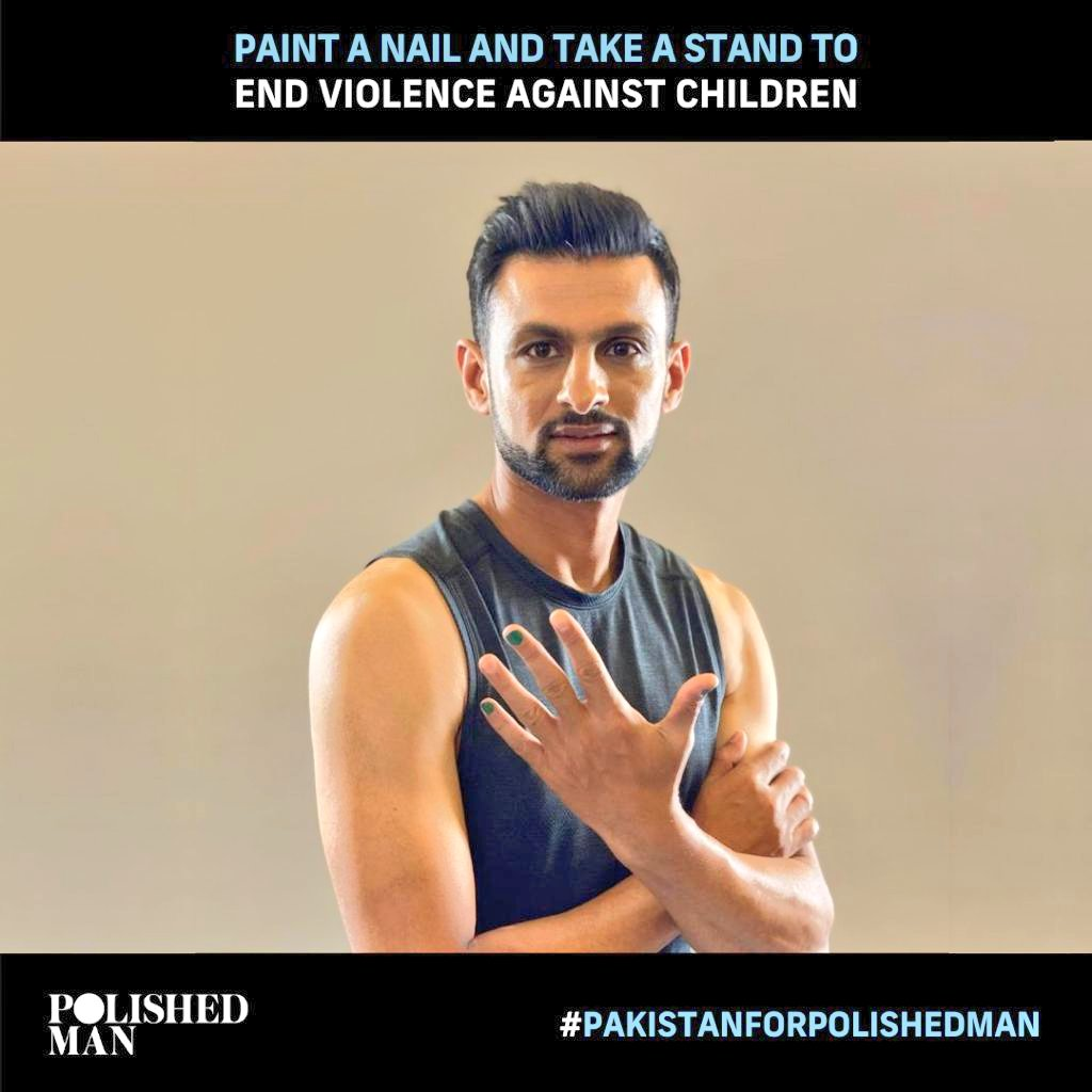 - Over 1 billion children suffer every year at the hand of an adult! Well not on our watch💪. Join us this October & show your support for our children and become a #PolishedMan today!🤚  🇵🇰 #PolishedManCampaign  #EndViolenceAgainstChildren #PakistanForPolishedMan  #PolishedManPk https://t.co/4AoeghwM3T