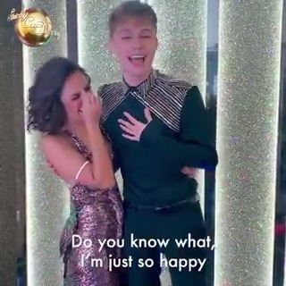 Hooray for @HRVY and @JManrara! Ready to make moves on #Strictly 2020. ✨