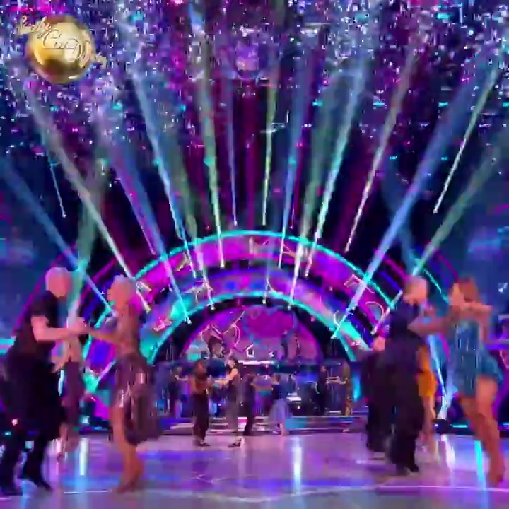 Our couples are complete. #Strictly 2020 is go! 💜✨