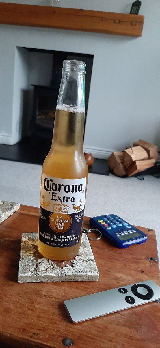 Only acceptable Corona about. Second half of Heineken Cup Final Exeter v Racing 92. Bring it on. Happy Saturday everyone. https://t.co/bCgpsluL3V