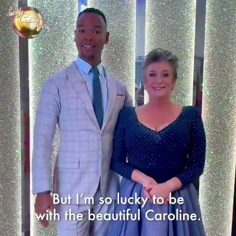 Take a bow @quentyquestions and @jojo_radebe, youre our first #Strictly 2020 couple! 🎉