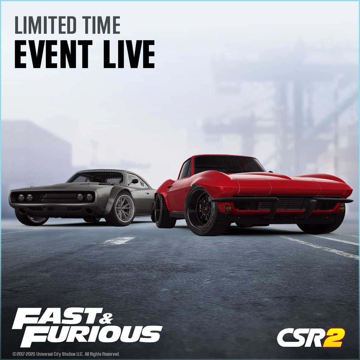 It's time to step up as Fast and Furious returns to the streets of CSR2 #CSR2 #FastFurious. https://t.co/raiwxtXpeE