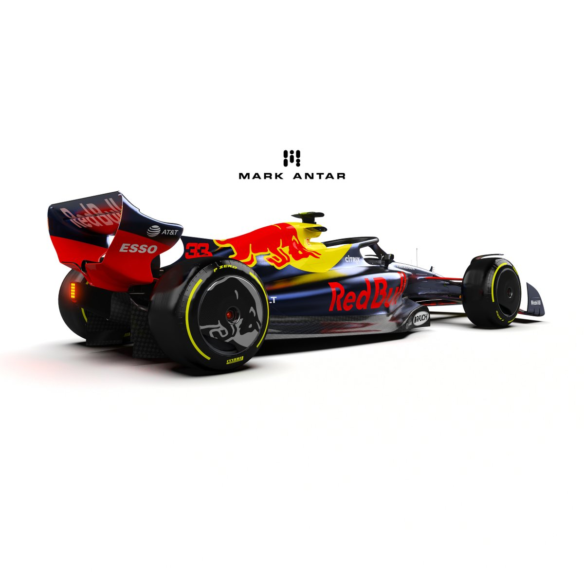 """Mark Antar Design on Twitter: """"2022 Red Bull Racing Livery concept. Will  they go back with Renault for PUs? 3D model by @RaceSimStudio #F1 #F12022 # RedBull #RedBullRacing #LiveryDesign… https://t.co/RgzsBuea6Q"""""""