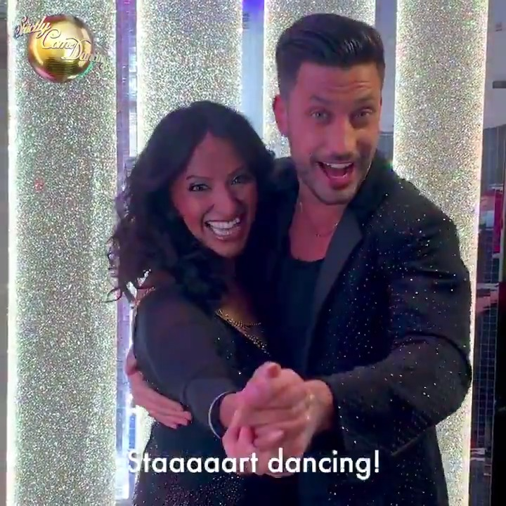 Yes @ranvir01, dreams do come true (in the form of @pernicegiovann1!). Now its time to staaaart dancing! #Strictly